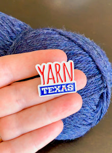 Yarn Texas Enamel Pin