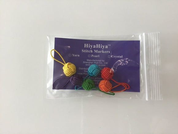 HiyaHiya yarn ball stitch markers