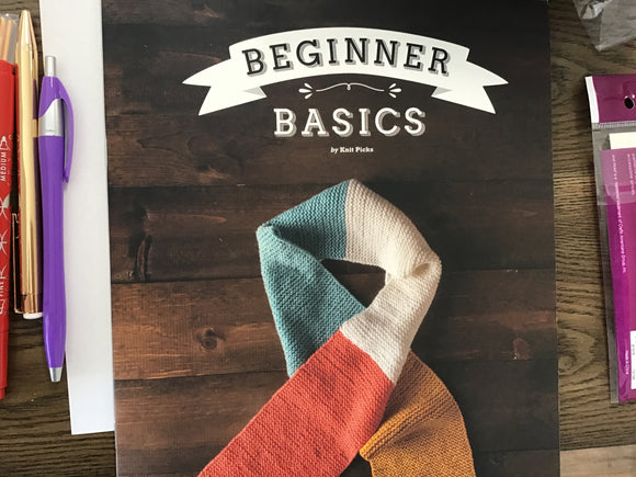 KnitPicks Beginner Basics Book