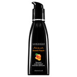 Wicked Aqua Sweet Peach - Sweet Peach Flavou Water Based Lubricant - 120 ml (4 oz) Bottle