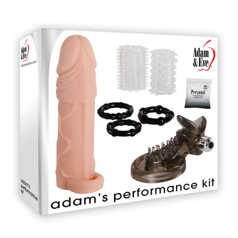 Adam & Eve Adam's Performance Kit - Male Kit - 8 Piece Set