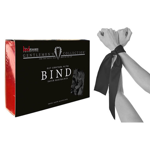 Bedroom Products Bind - Black Satin Restraints