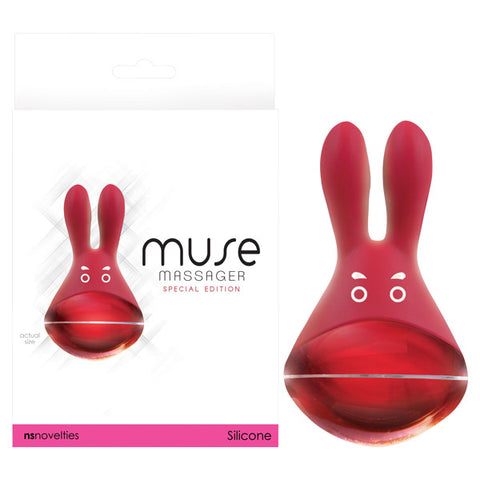 Muse - Metallic  Rechargeable Bunny Ears Stimulator