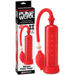 Pump Worx Silicone Power Pump -  Penis Pump