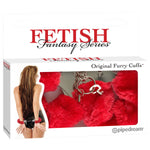 Fetish Fantasy Series Furry Cuffs -  Fluffy Hand Cuffs