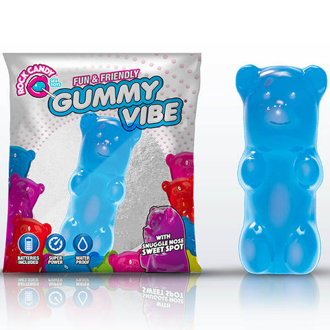 Rock Candy Gummy Vibe - berry  Disposable Jelly Bullet