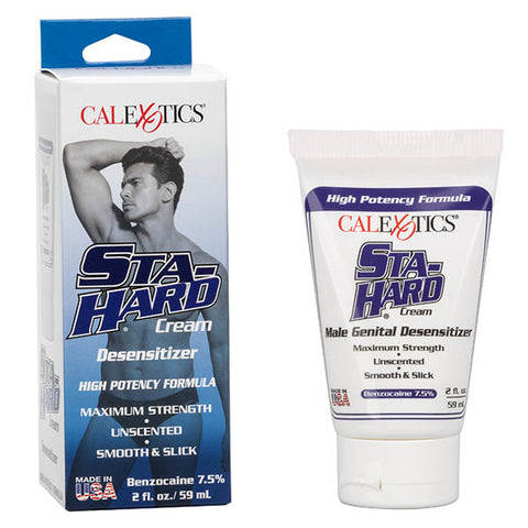 Sta-Hard Cream - Male Desensitising Gel - 59 ml (2 oz) Tube