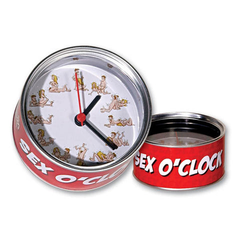 Sex O'clock - Novelty Clock