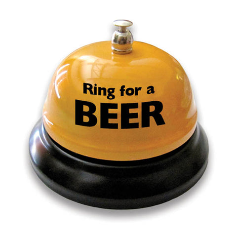 Ring For Beer Table Bell - Novelty Bell