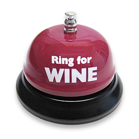 Ring For Wine Table Bell - Novelty Bell