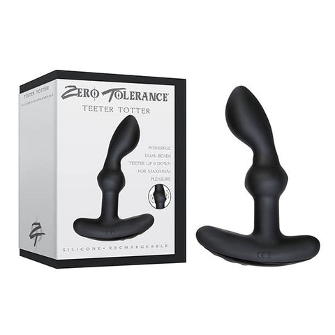 Zero Tolerance Teeter Totter -  15 cm USB Rechargeable Prostate Massager with Remote