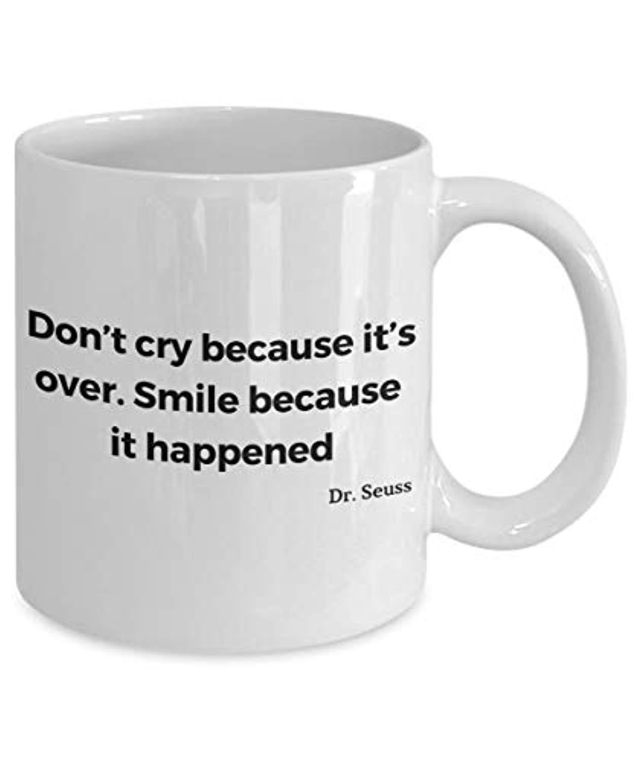 Don't Cry Because Its Over mug