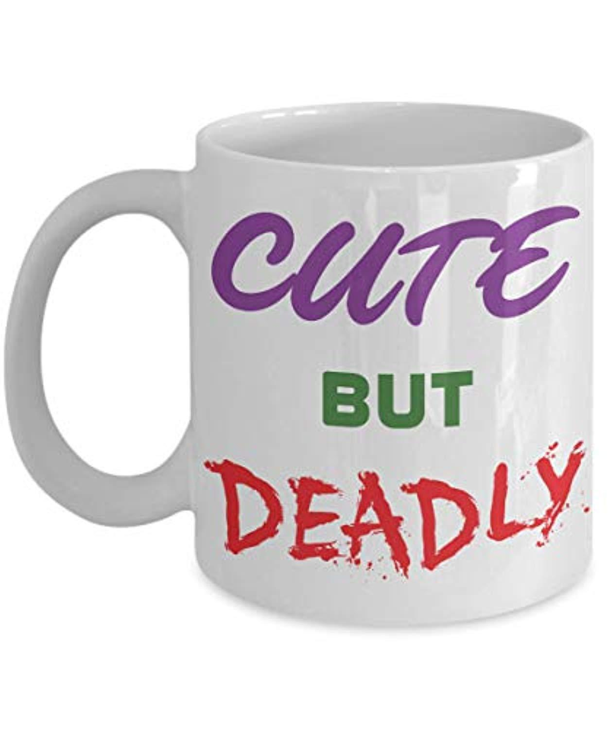 cute but deadly coffee mug