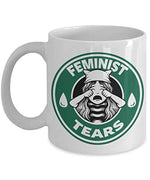 feminist tears coffee mug