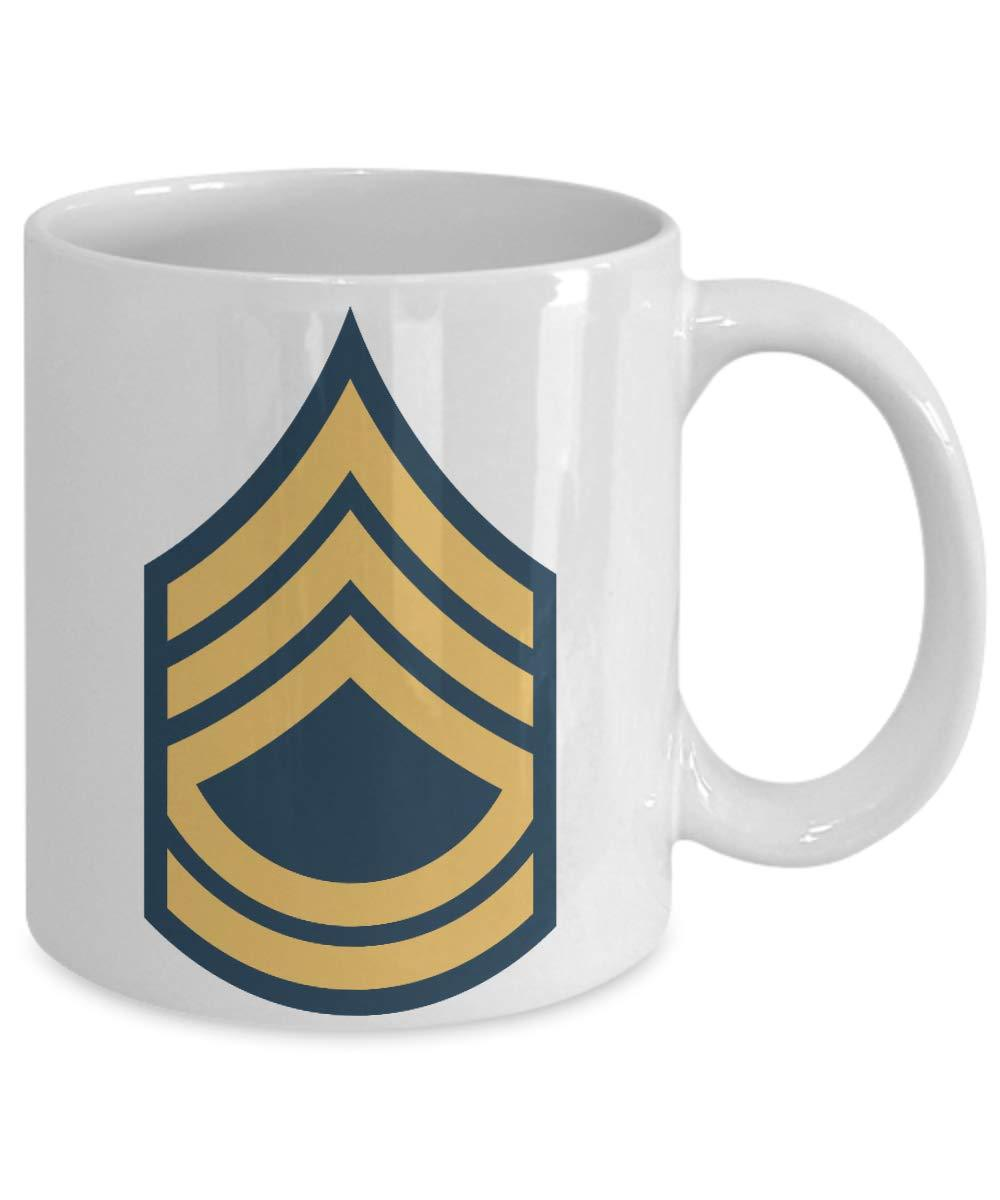 SFC Mug Sergeant First Class Military Rank Coffee Cup