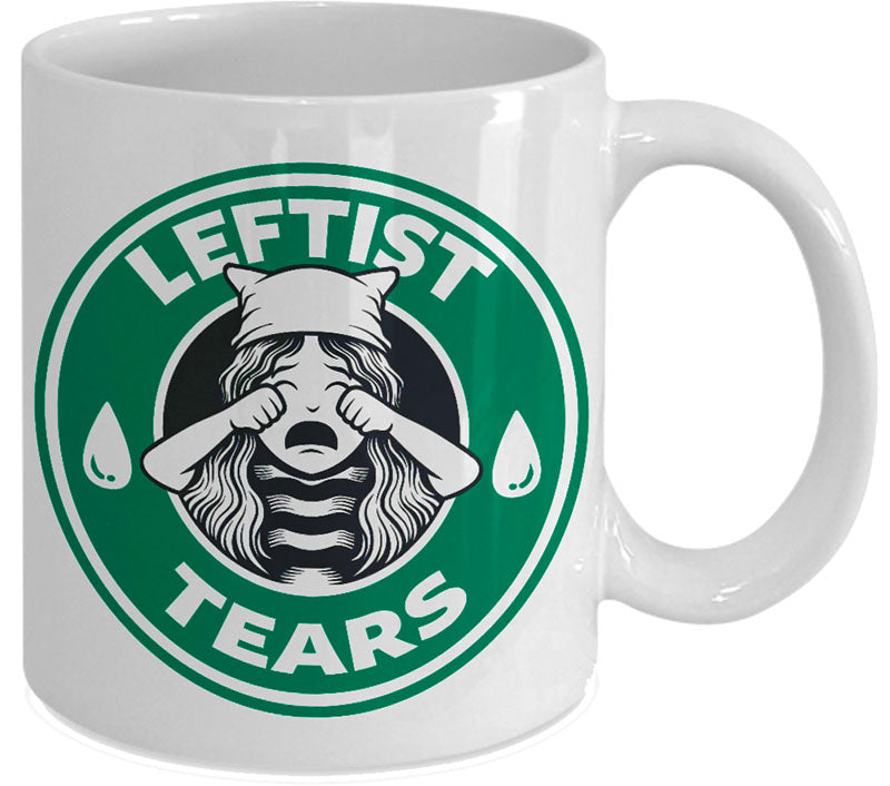 leftist tears coffee mug