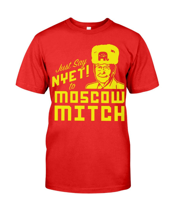 moscow mitch red premium shirt