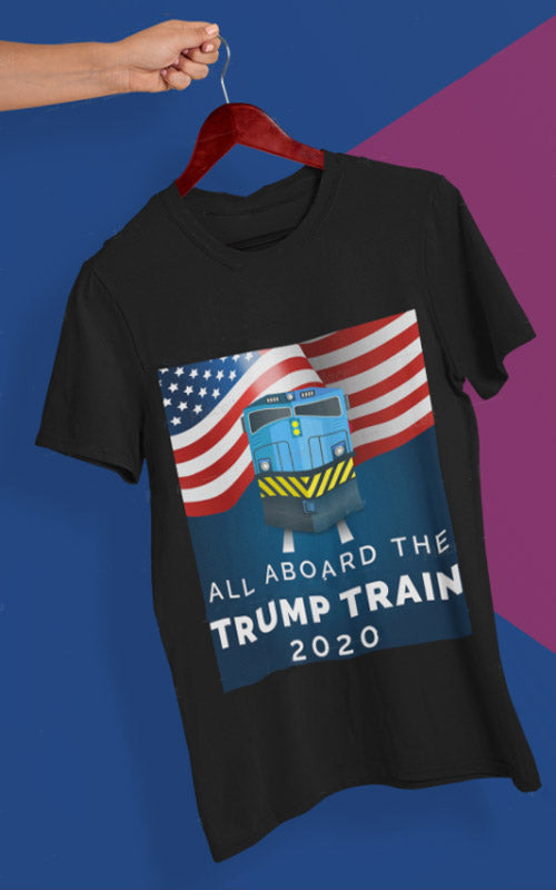 trump train shirt tee