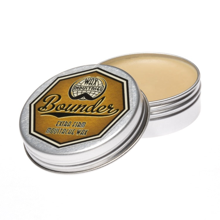 Bounder Extra-Firm Moustache Wax Triple-Pack :: 3x 10g Tins