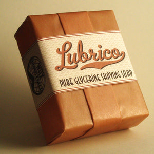 Lubrico pure glycerine shaving soap