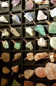 Rock-n-Gemstone Pendants