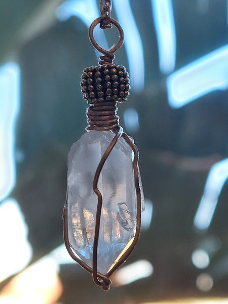 Rock Pendant - Crystal Quartz