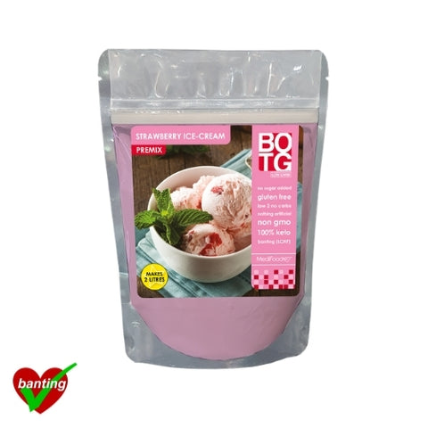 Premix Ice Cream Strawberry 150g