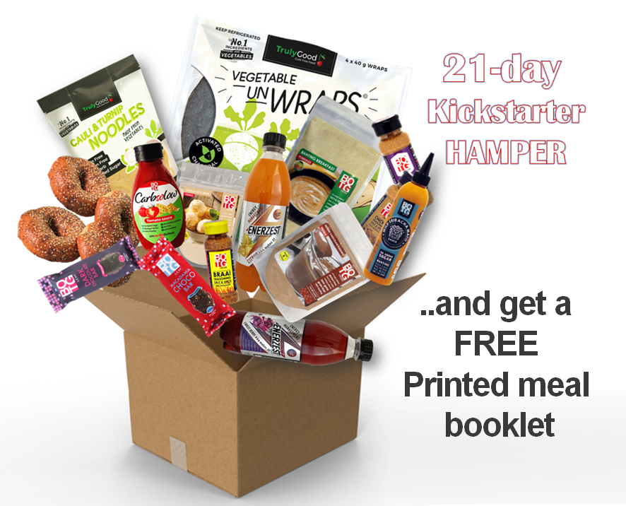 #21 day Kickstarter Meal kit + Free booklet + FREE DELIVERY!