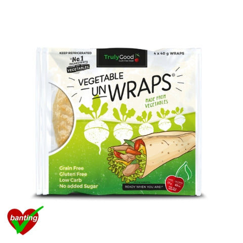 Vegetables Wraps 4-pack