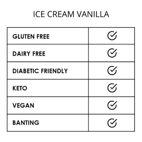 Premix Ice Cream Vanilla 150g
