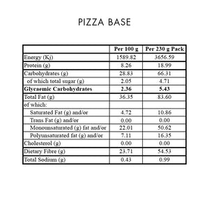 Premix Pizza Base 230g