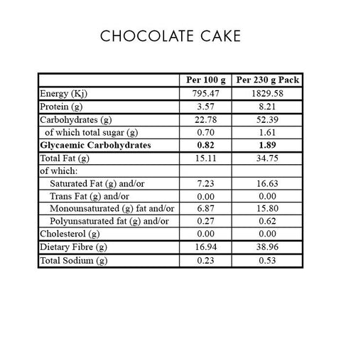 Premix Chocolate Cake 230g
