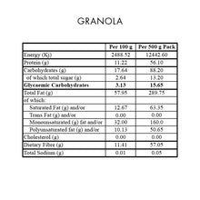 Load image into Gallery viewer, Premix Granola 400g