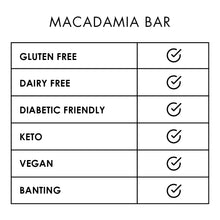Load image into Gallery viewer, Bar Macadamia 65g