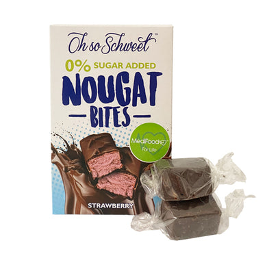 Nougat Bites Strawberry (12 bites per box)