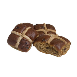 Low Carb Hot Cross Buns 4-pack