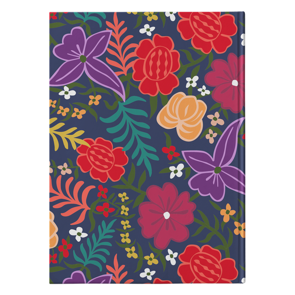 Las Flores - Hardcover Journal Journals | Aimless Roots | Travel-Inspired Apparel | Gifts for Travelers