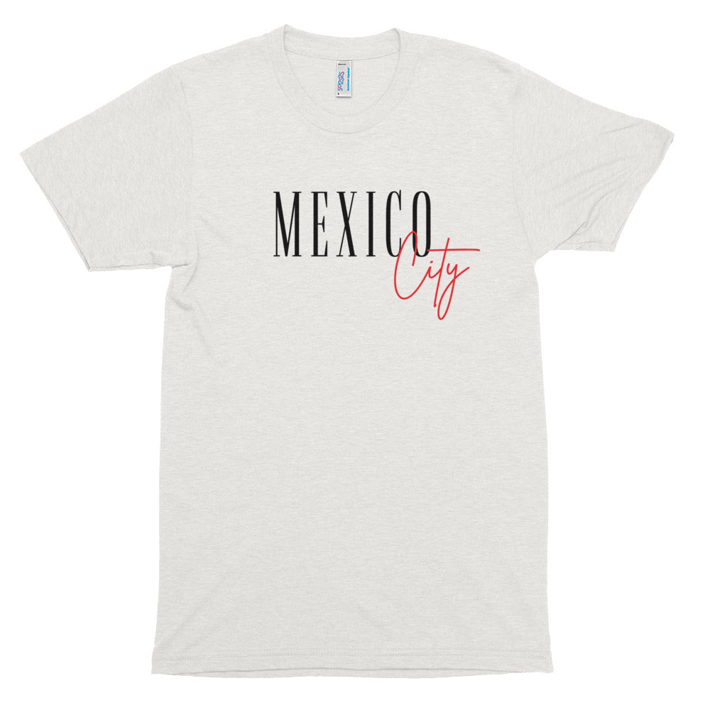 Mexico City Tri-Blend T-shirt  | Aimless Roots | Travel-Inspired Apparel | Gifts for Travelers