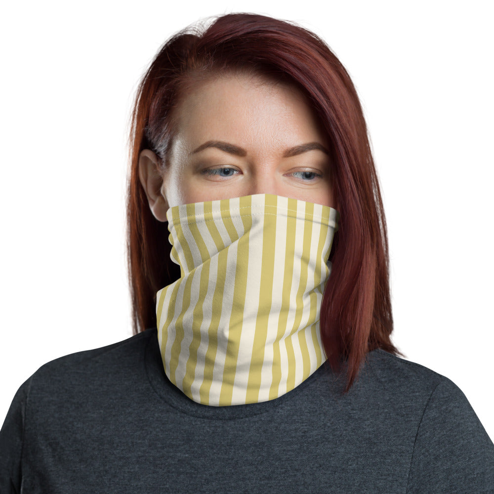 Golden Fields Striped Neck gaiter