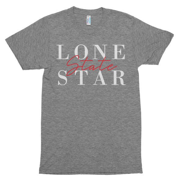 Lone Star State Tri-Blend T-shirt  | Aimless Roots | Travel-Inspired Apparel | Gifts for Travelers
