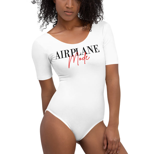 Airplane Mode Bodysuit  | Aimless Roots | Travel-Inspired Apparel | Gifts for Travelers