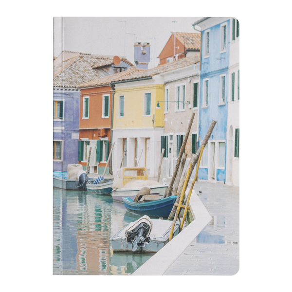 Burano - Paperback Journal Journals | Aimless Roots | Travel-Inspired Apparel | Gifts for Travelers