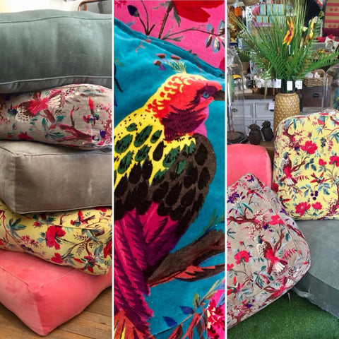 velver cusions,pillows,floor cushions,colourful cushions,home furniture shop