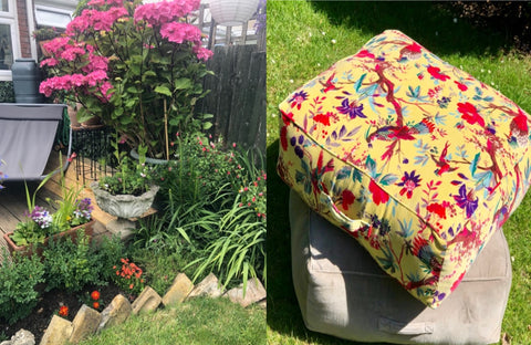 fresh garden cushion