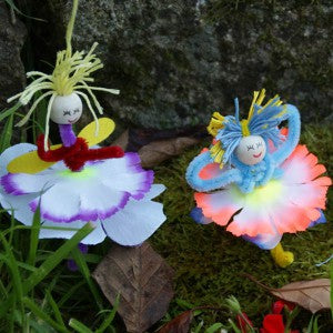 Fashion a Flower Fairy gifts in tin for kids toys girls fun dress up fairies