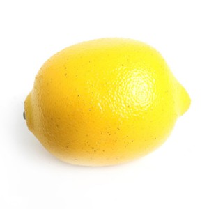 Artificial Fruit Lemon