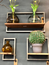 Live Edge Collection Square Shelf, Wall Decor, Home Furniture Shop, Home Accessories