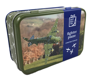 Fighter Plane Construction In A Tin