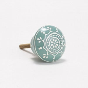 Henna Flower Drawer Knobs handles home decor style accessories