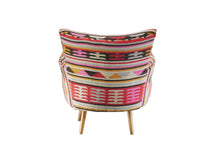 Kilim Cotton Woven Armchair | Ethnic Armchair